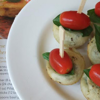 Caprese Pesto Margherita Stackers