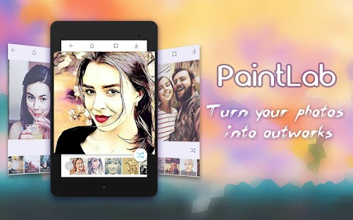 Photo Cartoon Camera- PaintLab Screenshot