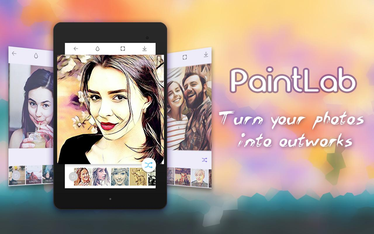 Photo Cartoon Camera- PaintLab- screenshot