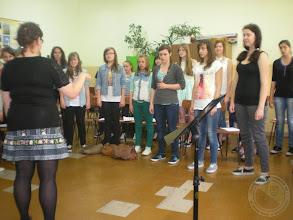 Photo: Egzamin dyplomowy studentek Uniwersytetu Muzycznego, które praktykowały z Chórem PG 20