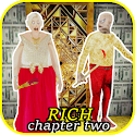 Rich Granny Chapter Two - Grandpa Scary House icon