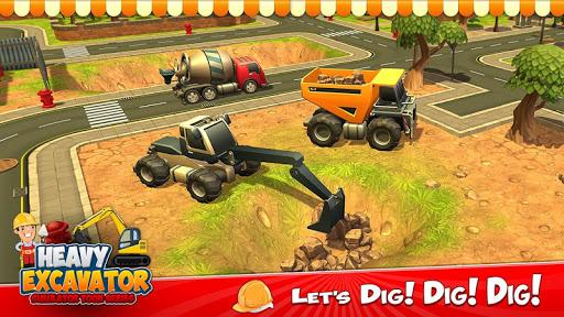 Grue d'excavatrice lourde Grue de construction  captures d'écran 3