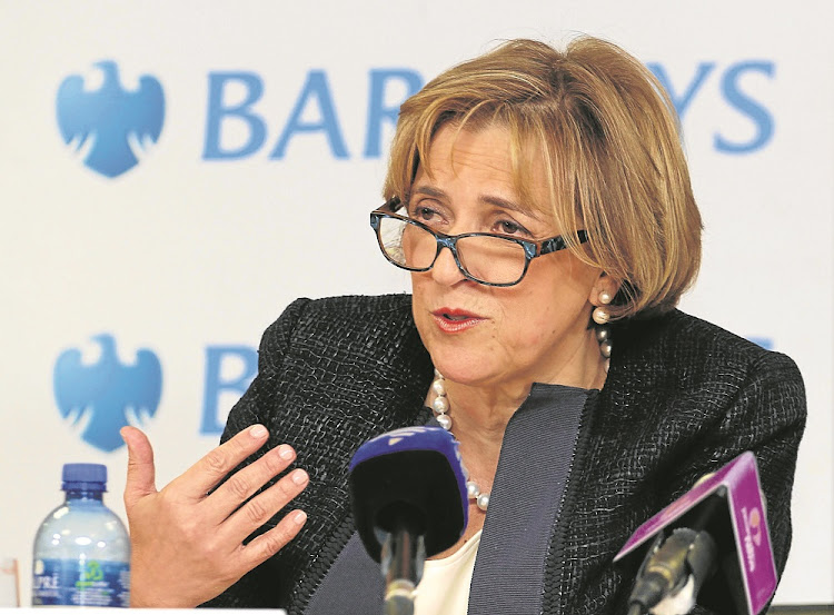 ABSA/Barclays Africa Group CEO Maria Ramos.