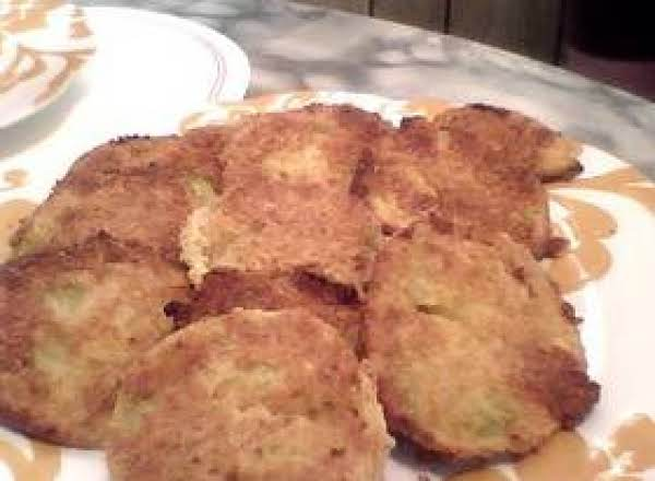 A Green Tomato That's Fried In The Oven With A New Twist!