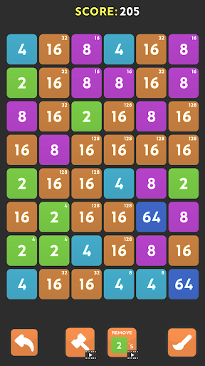 Merge Blast - NO ADS 2048 Puzzle Game android2mod screenshots 1