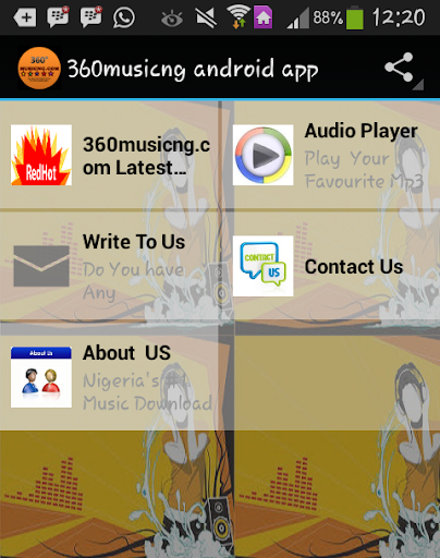 360musicng Android App