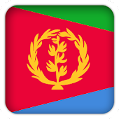 Selfie with Eritrea flag