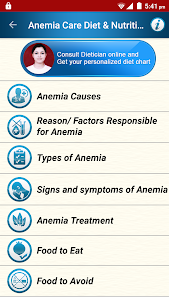 Anemia Care Diet & Nutrition 3.4