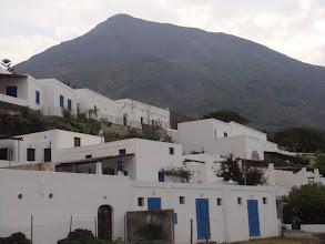 Photo: le village de Stromboli