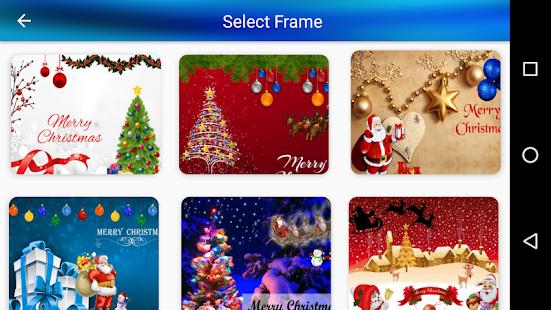Christmas greetings photo frames apps on google play screenshot image m4hsunfo