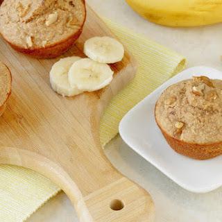 Banana Walnut Blender Muffins.