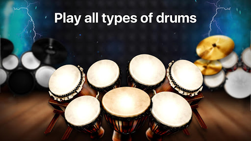 Drums: real drum set music games to play and learn 2.18.01 screenshots 4