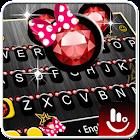 Pink Minny Keyboard Theme icon