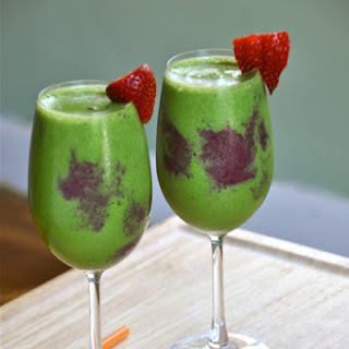 Psychedelic {Green & Purple} Smoothie