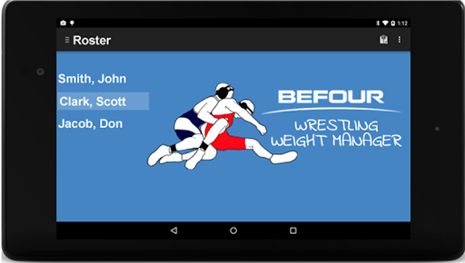 Wrestling Weight Manager