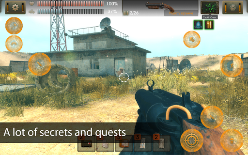 The Sun Origin: Post-apocalyptic action shooter 1.9.0 screenshots 5