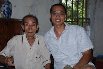 Photo: Grandpa was in a better mood.
