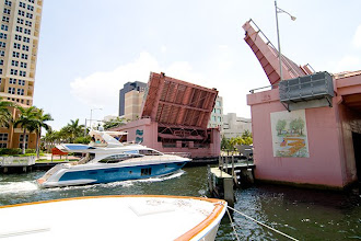 Photo: One of the many draw bridges in Fort Lauderdale