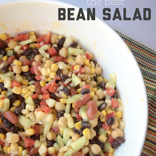 The Best Bean Salad