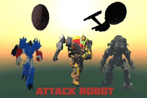 Attack Robot  trampa 1