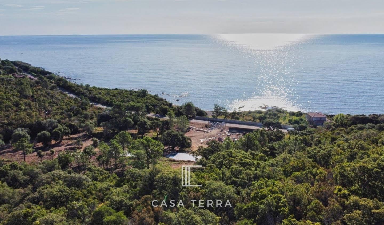Terrain avec vue panoramique Sainte lucie de porto vecchio