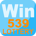Win539 - lottery app icon