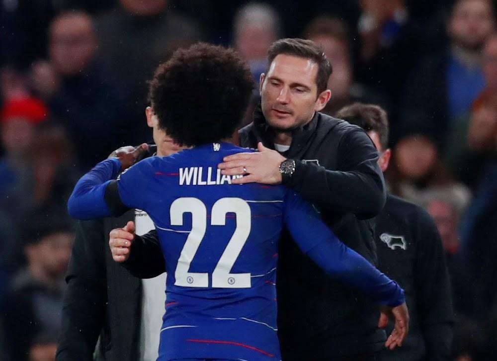 Derby boss Frank Lampard plays down talks of Chelsea return
