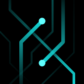 Tron Traces - Live Wallpaper
