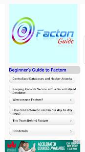 Factom Beginners Guide - náhled