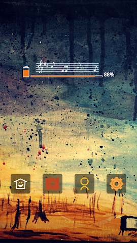 android Abstract Aesthetic Art theme Screenshot 2