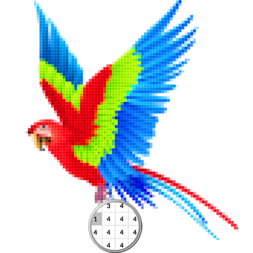Bird Color By Number-Pixel Art: Coloring Book Android APK Download Free By Whitecol