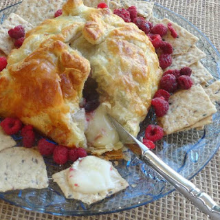 Christmas Breakfast Brie Pastry.