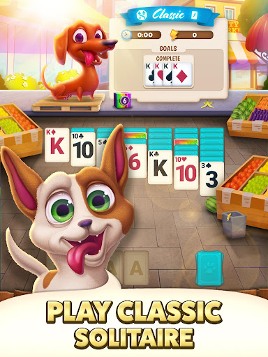 Solitaire Pets Adventure - Free Classic Card Game screenshots 8