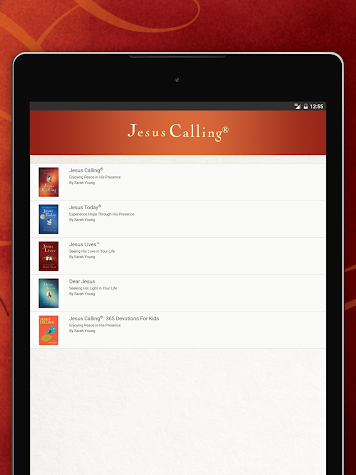 Jesus Calling Screenshot