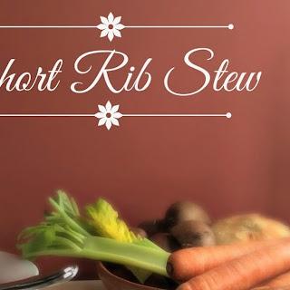 Short Rib Vegetable Stew Recipes