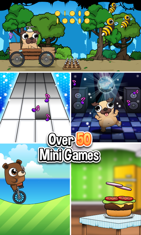pug care game pug my virtual pet dog android apps on google play 1780