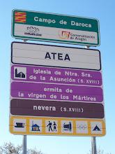 Photo: Cartel de bienvenida al pueblo