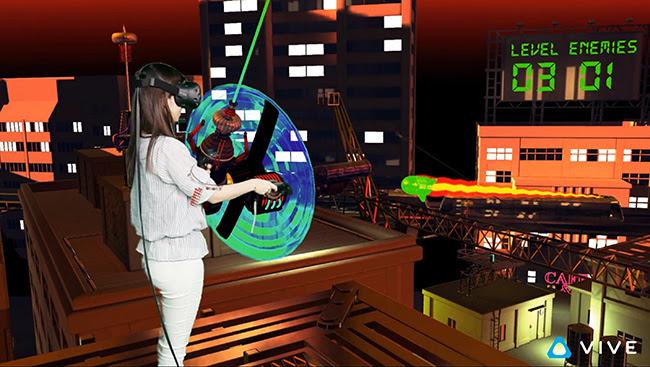 HTC sẽ tự phát triển một số game dành cho kính thực tế ảo Vive Pre