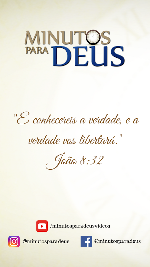 Minutos para Deus- screenshot