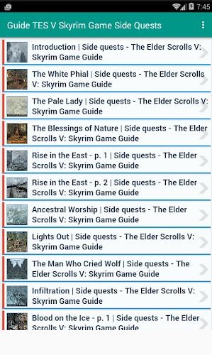 Guide TES V Skyrim Game part 3 APK 1 0