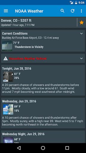 NOAA Weather International screenshot 3
