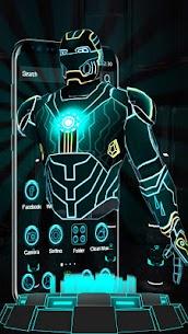 3D Neon Hero Theme apk download 2