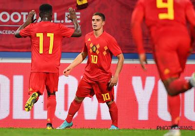 """La jeune promesse du football belge avoue : """"Honnêtement, je n'avais jamais entendu parler de Jacky Mathijssen""""."""