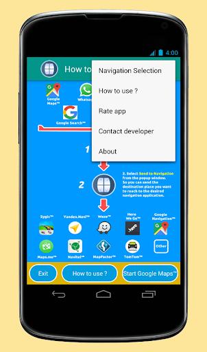 Send to Navigation 2.3.0 screenshots 5