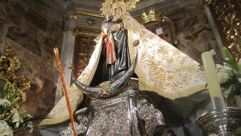 La Virgen del Mar será restaurada en el propio Convento de Santo Domingo.