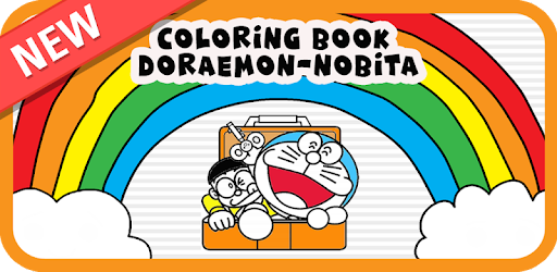 Coloring Nobita Doraemon For Kids 2018 On Windows Pc Download Free