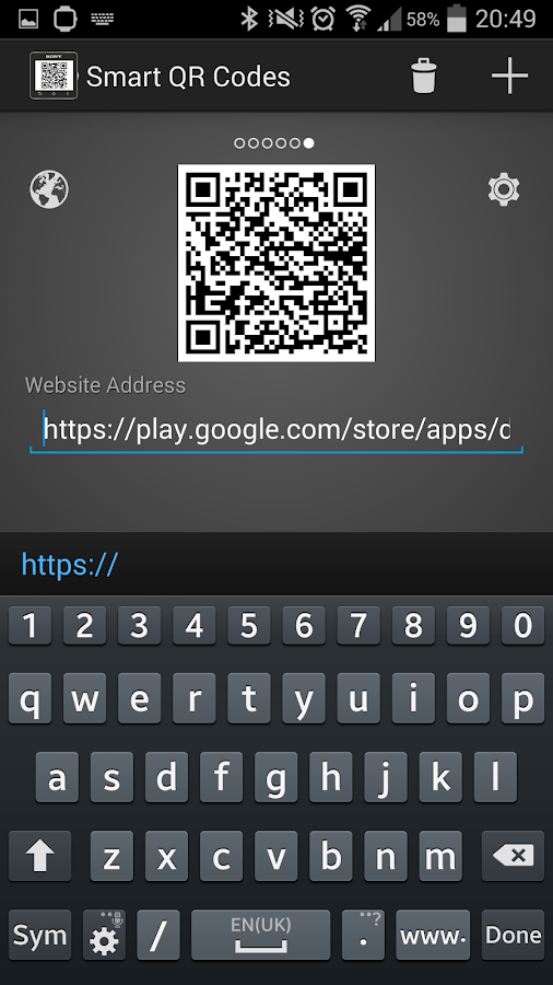 Smart Qr Codes Smartwatch 2 Android Apps On Google Play