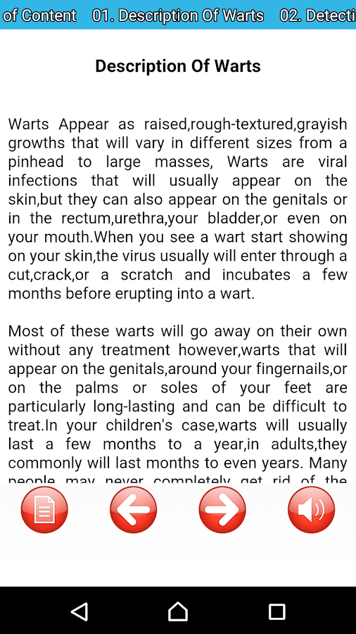 Warts: Causes Cures Treatments- screenshot