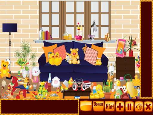 Messy House Hidden Objects