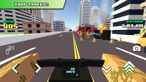 Blocky Moto Racing ud83cudfc1 screenshots 9
